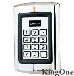 125khz Door Access Control Rfid Id em Card Reader Metal Case With 1000 Users