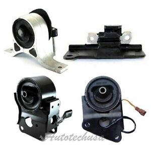 M894 Engine Motor Auto Trans Mount 4pcs For 04 06 Nissan Maxima 3 5l W Sensor