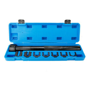 Auto Car Truck Inner Tie Rod Tool Installer Remover Crews Foot Wrench Set W case