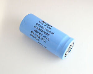 Lot Of 2 Mallory Cgs123u050u4c3pl 12000uf 50v Large Can Electrolytic Capacitor