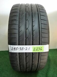 yokohama Advan Sport 295 35 21 107y Used Tire 71 7 1 32nds E236
