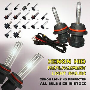 Two Xenon Hid Kit S Replacement Light Bulbs Bi Xenon Dual Beam H4 H11 9006 9007