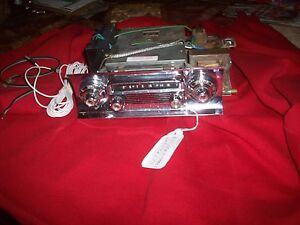 1958 Oldsmobile Super 88 98 Oem Delco Trans portable Radio Serviced
