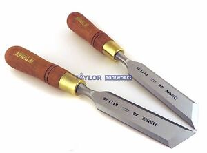 Narex czech Republic Right Left 26 Mm Skew Paring Chisels 811126 811176