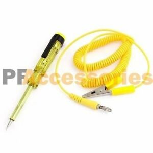 Systems Long Probe Continuity Led Light Dc 6 24v Auto Car Voltage Circuit Tester