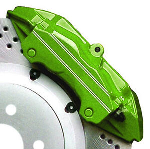 Lime Green G2 Brake Caliper Paint 2 part Epoxy Kit Hi heat Automotive