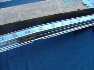 1966 Oldsmobile Jetstar Dynamic 88 Tail Panel Moulding Nos Rear Finish Panel