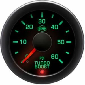 Isspro R17233 Ev2 Series Electronic Turbo Boost Gauge Psi 0 60 Universal
