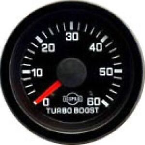 Isspro R5623r Ev1 Series Turbo Boost Gauge 0 60 Psi Universal