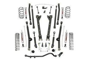 Rou Perf628 Rough Country 97 06 Jeep Tj 2 5in Long Arm Suspension 4 Cyl