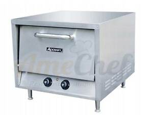 New Commercial Electric Pizza Oven 23 Stackable Countertop Adcraft Po 18