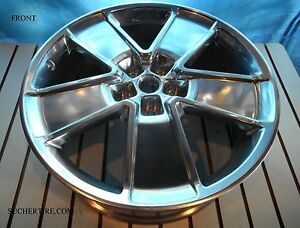 New 21 Inch Chevy Camaro Oem Front Alloy Wheel Rim 5551 2012 2015 Polished