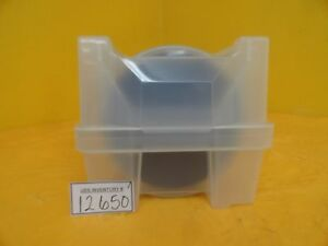 Various 200mm Notched Silicon Wafer 25 Count Boat Test Wafers With Oxides Used
