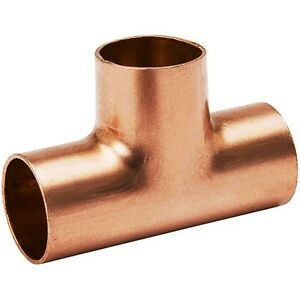 bag Of 25 3 4 Plumbing Copper Fitting Sweat Tee Cxcxc