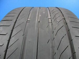 Used Continental Contipro Contact 5p 295 35zr 20 5 6 32 Tread 1189f