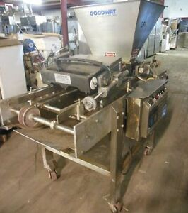 Goodway Muffin Cupcake 5 piston Depositor With Conveyor Pf 40