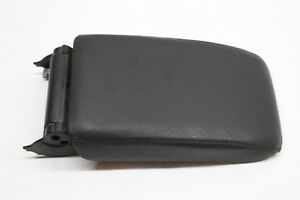 2010 Vw Jetta Center Console Arm Rest Black Leather Oem 10
