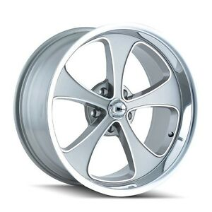 Cpp Ridler Style 645 Wheels 17x8 Front 20x10 Rear 5x4 5 0 Offset Gray