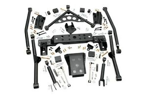 Rou 909 Rough Country 99 04 Jeep Grand Cherokee 4in X flex Long Arm Upgrade Kit