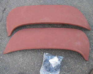 Original Foxcraft Fender Skirts 1963 Oldsmobile With New Mounting Clips And Seal
