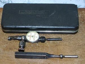 Starrett Last Word Dial Indicator No711 W Case Attachments