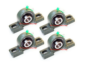 High Quality 3 4 Ucp204 12 Pillow Block Bearing With Grease Fitting qty 4