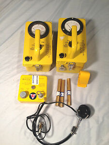 Civil Defense Shelter Radiation Detection Kit Cd v 777 a geiger Counter