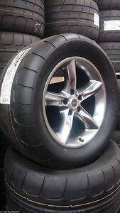 2 Toyo Proxes Tq 345 40 17 Drag Tires Wheels For Dodge Challenger Charger Srt