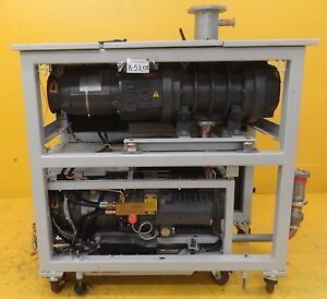 Iqdp80 Edwards Iq7150204xs Dry Vacuum Pump Qmb1200 Copper Used Tested Working