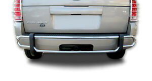Broadfeet Rear Bumper Guard Double Pipe fits 2006 2010 Ford Explorer