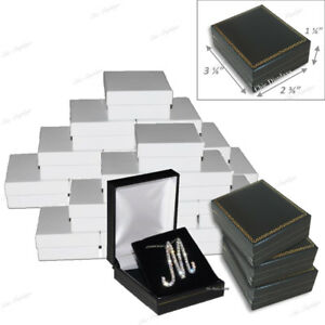 Wholesale Jewelry Gift Boxes For Jewelry Box For Earring And Necklace Lot Of 24