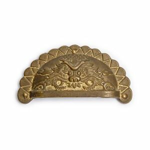 Cbh 2 Chinese Brass Hardware Reproduction Handle Drawer Pulls 3 5