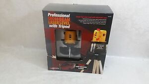 Performance Tools Professional Cross Beam Laser Level W Tripod Construction Kit