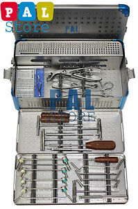 Veterinary Orthopedic Complete System Set 2 0mm 2 7mm 3 5mm Small Autoclave
