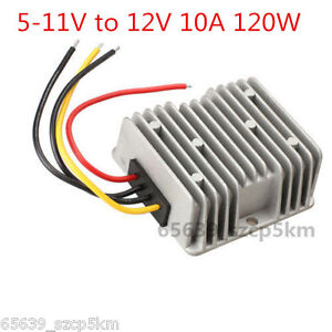 Voltage Booster Power Dc Converter Regulator 5v 5 11v Step Up To 12v 10a 120w