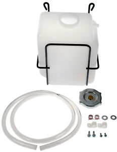 Engine Coolant Recovery Tank Kit Dorman 54003 Universal W Pressure Cap