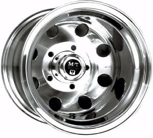 16x8 Mickey Thompson Alcoa Forged Aluminum Wheel 5 5 5 Unobtanuim 1 Left
