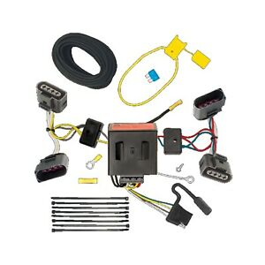 T one 4 way T connector Trailer Hitch Wiring For 2004 2010 Volkswagen Touareg