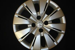 1 Refinished 15 Toyota Yaris Wheel Cover Hubcap Hollander 61164