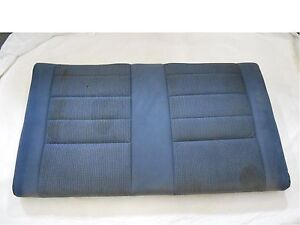 1990 1993 Mustang Convertible Rear Seat Back Top Upper Blue