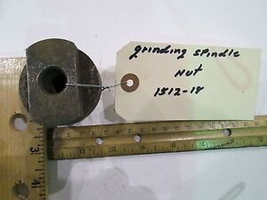 Storm Vulcan 15 Grinding Spindle Nut 1512 18