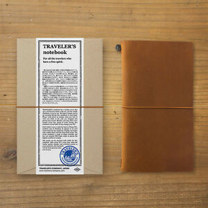 Traveler s Notebook Regular Size Camel Leather Cover From Japan 15193006