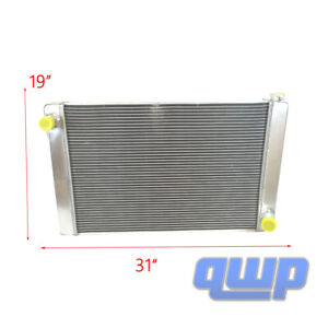 For Chevy Gm Style Universal Full Aluminum Racing Radiator 31 X 19 X3 2 Row