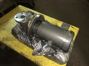 Ampco Zc2 Stainless Steel Centrifugal Pump 1 1 2 X 1 1 4 Zc2 1750 Rpm 1hp