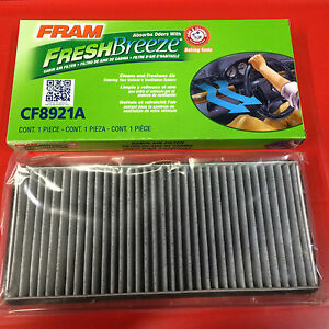 New Cabin Air Filter Freshbreeze Fram Cf8921a W Arm Hammer Baking Soda For Ford