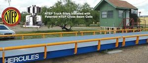 Prime Scale Hercules 20 X 10 Ft Truck Scale 100 000 Lb Steel Deck Ntep Approved