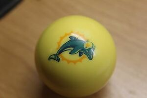 SALE Miami Dolphins Pool Ball Knob for Dillon Hornady RCBS Reloading Presses