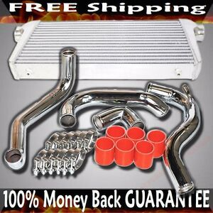 Fmic Intercooler Piping Kits silicone clamp Fit 89 94 Nissan 240sx Ca18det Only