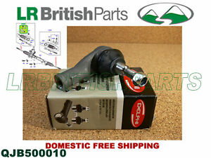 Land Rover Steering Tie Rod End Lr3 Delphi New Lr010671