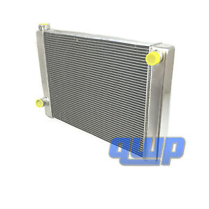 New Universal Aluminum Racing Radiator For Ford Mopar 28 X 19 X3 2 Rows